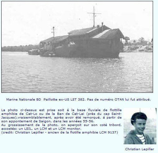 LANDING SHIP TANK (LST) CLASSE NEWPORT  - Page 2 Paillo54